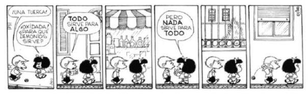 Felipe y Mafalda: Todo sirve para algo