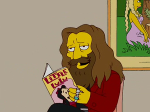 Alan Moore en The Simpsons