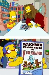 Bart y Alan Moore