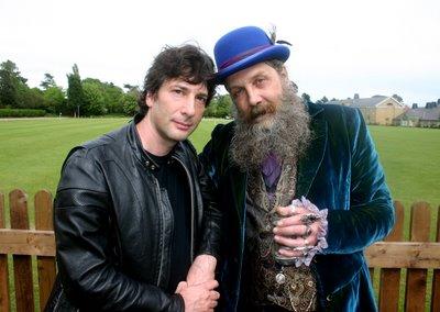 Neil Gaiman y Alan Moore