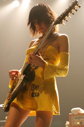 PJ Harvey en concierto