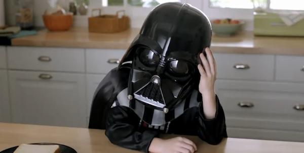 La fuerza de Darth Vader