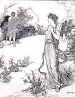 Nausicaä, ante Odiseo