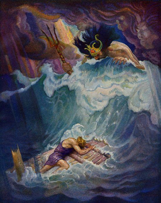 La balsa de Odiseo